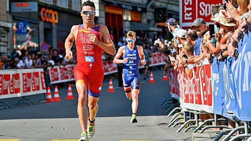 Bronce para Gómez Noya, su undécima medalla mundial