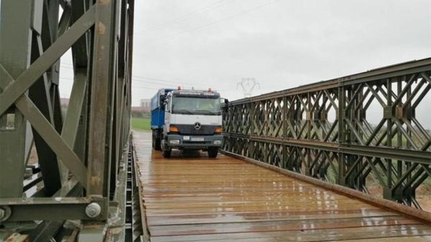 El Ejército montará un puente 'Bailey' mientras dure el cierre del puente de San Andrés a Taganana