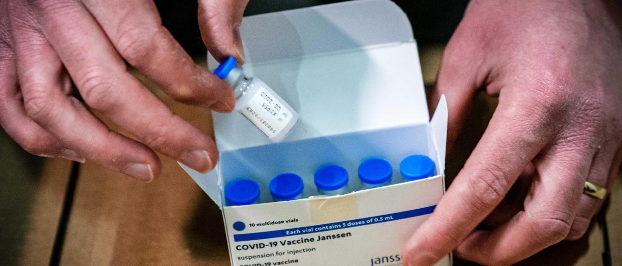 Dosis de la vacuna de Janssen.