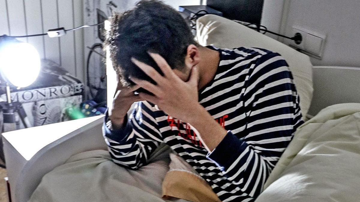 La apnea afecta a la calidad del sueño, que se traduce en somnolencia diurna. | JUANI RUZ