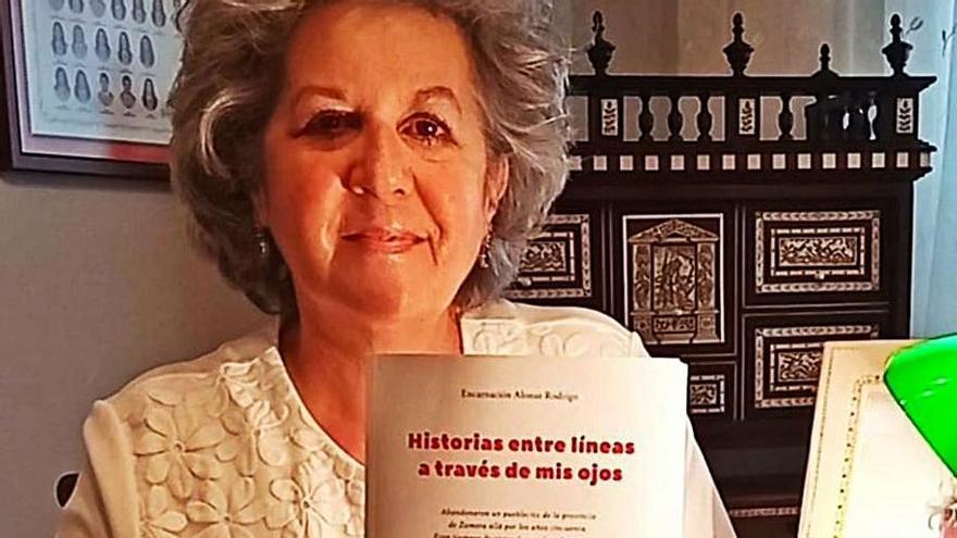 """Encarnación Alonso: """"Cuento la historia de un vecino de El Cubo del Vino dado por muerto que luchó en Indochina"""""""