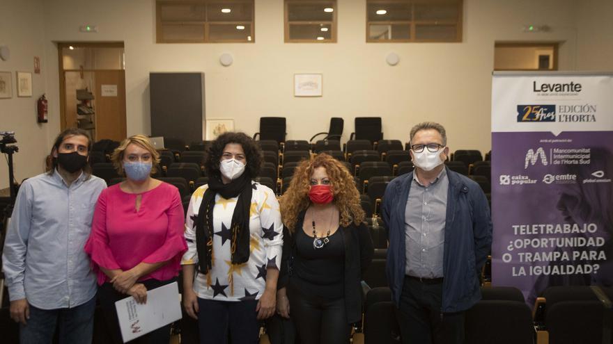 La Mancomunitat de l'Horta Sud analiza el impacto del teletrabajo en la igualdad