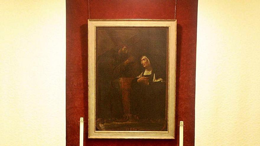 Las Agustinas Descalzas reciben un cuadro de la Beata de Viladomat