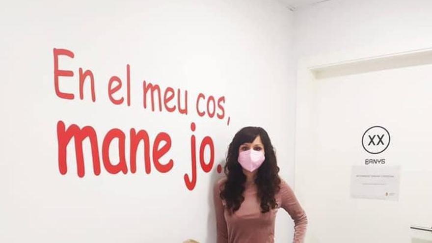 Missatges contra l'assetjament escolar als col·legis de Silla