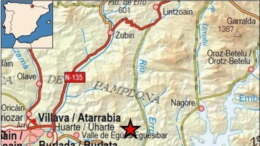 Un sisme de magnitud 4,3 amb epicentre a Navarra es deixa sentir a Catalunya