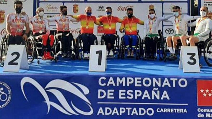 Doble atropello en el Campeonato de España de Ciclismo Adaptado