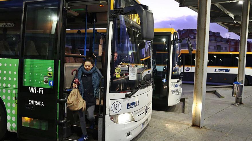 La Xunta adecenta la estación de autobuses de O Grove