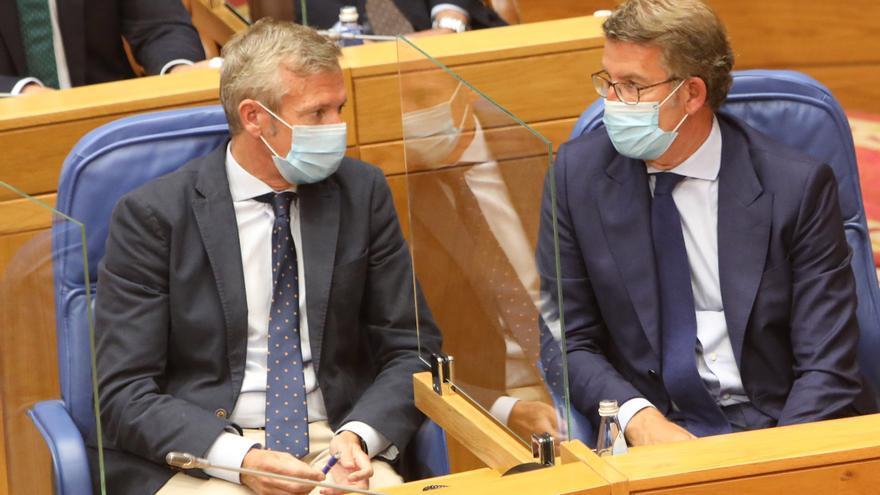El Parlamento de Galicia abordará hoy la gestión de la pandemia y los fondos UE
