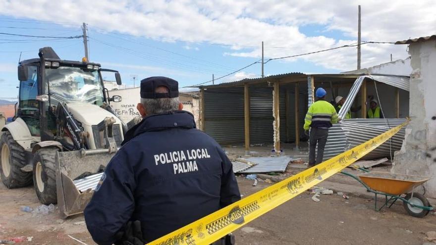 """Häuser im """"Drogensupermarkt von Mallorca"""" illegal wieder aufgebaut"""