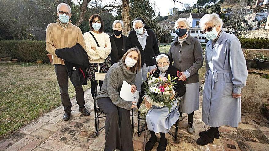 La mare M. Nativitat de St. Daniel fa 100 anys