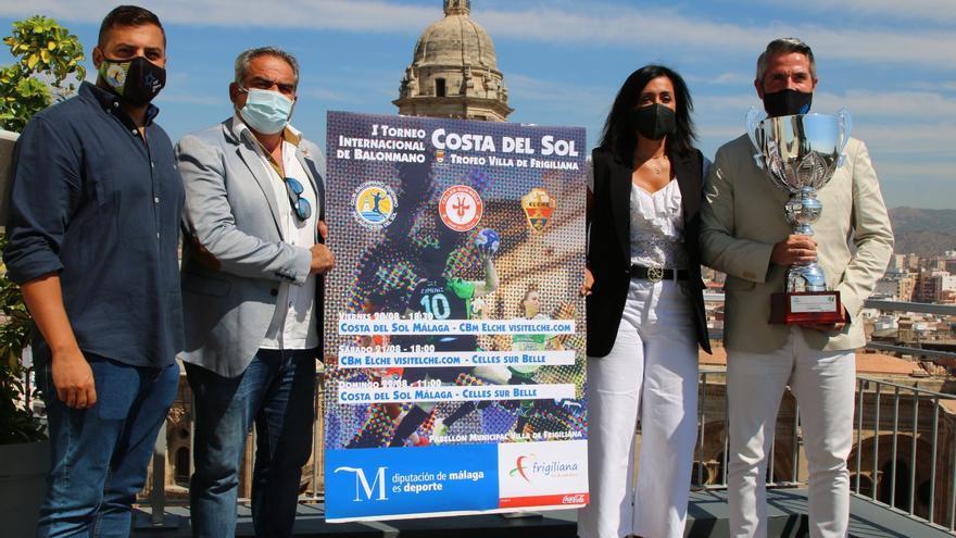 Presentan el I Torneo Internacional de Balonmano Costa del Sol Trofeo Villa de Frigiliana
