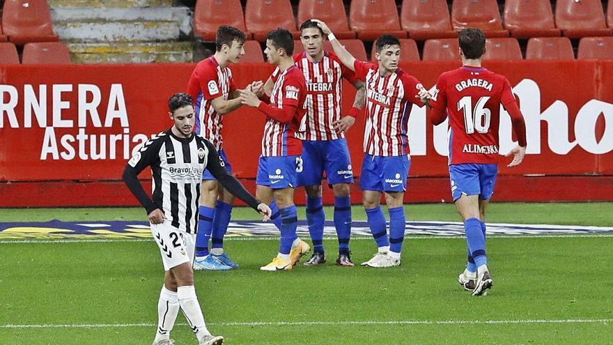 El Sporting encadena tres victorias seguidas
