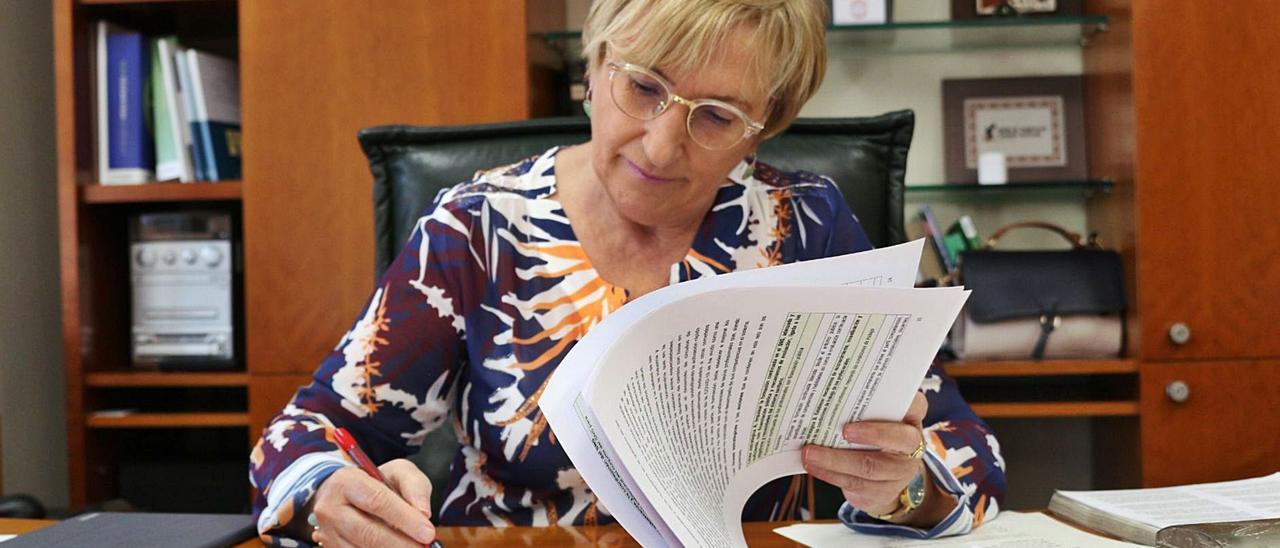 Ana Barceló está al frente de la Conselleria de Sanidad desde el año 2018.