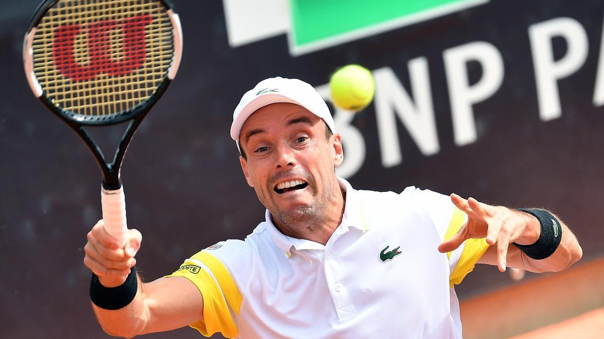 Roberto Bautista sigue adelante en el Masters 1.000 de Roma tras vencer a Garín.