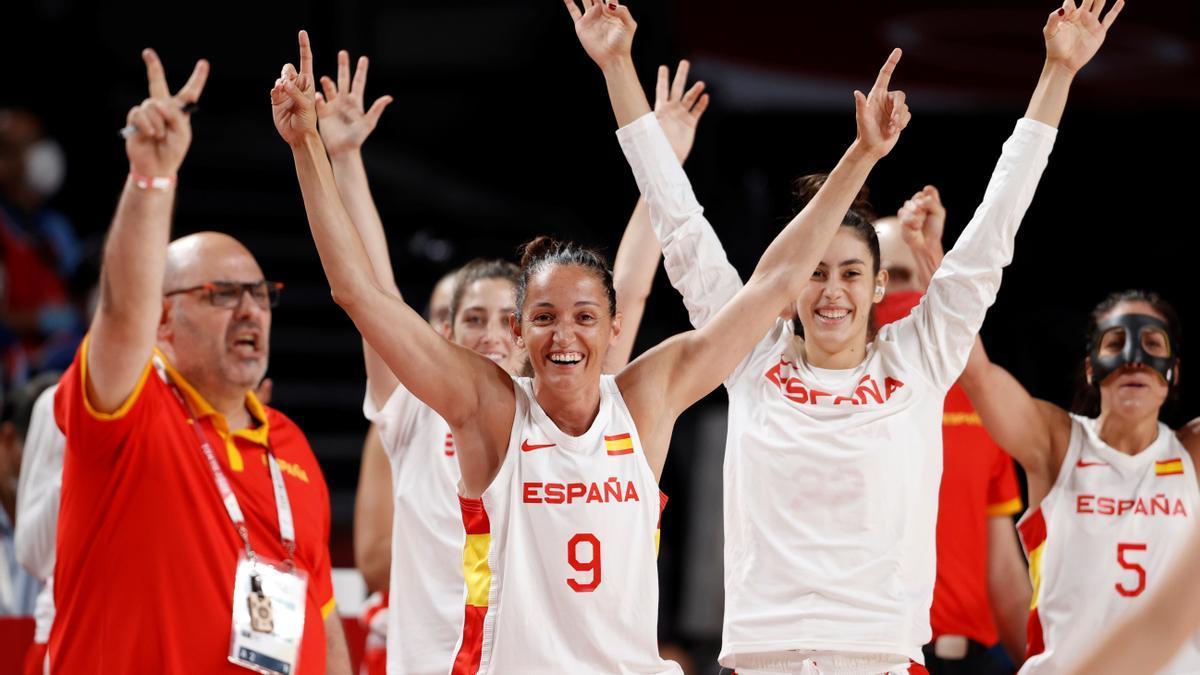 Laia Palau, jugadora de la selecció espanyola