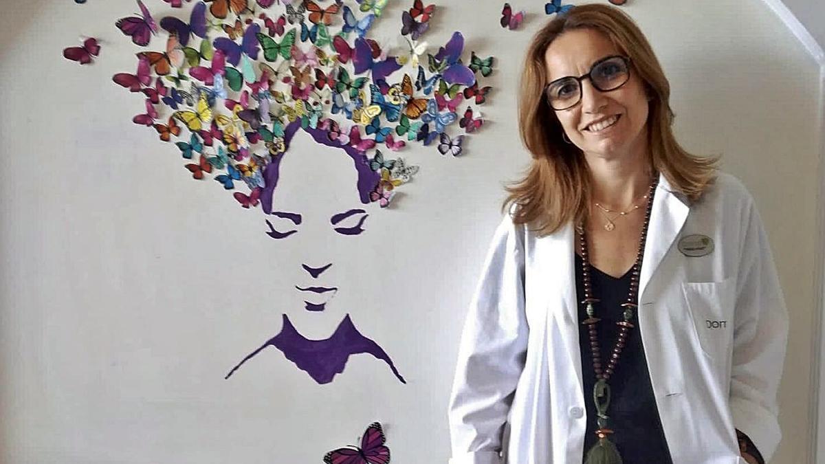 La enfermera Marta Ulloa.   | // L.O.