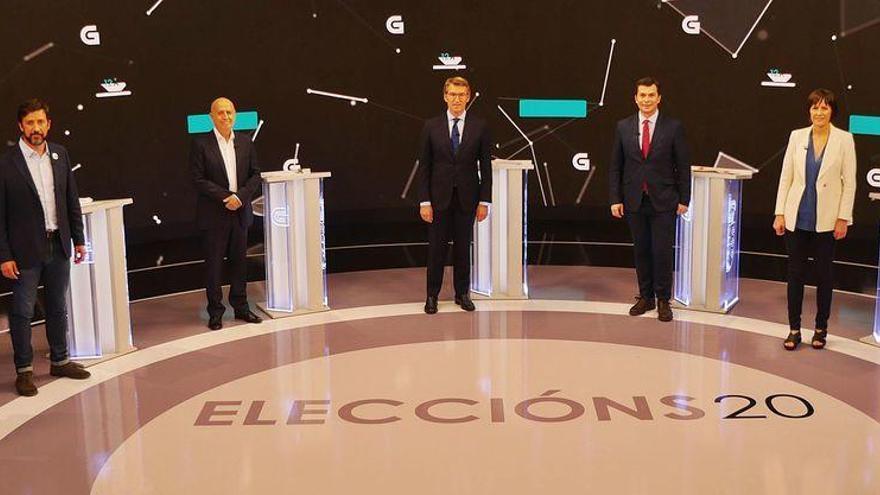 Feijóo apela a la estabilidad; la izquierda, a la movilizacion para provocar el relevo en la Xunta