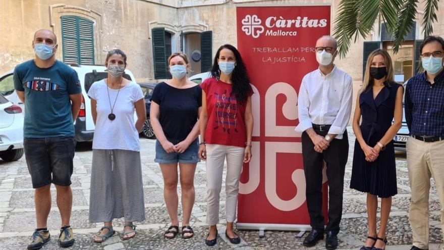 Endesa y Cáritas Mallorca colaboran en el proyecto 'Apoyo a la ocupación 2.0' para fomentar la inserción sociolaboral