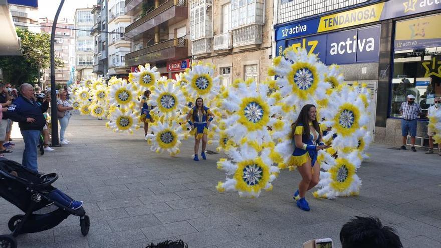 Fiesta de Carnaval en Vilagarcía en plena pandemia