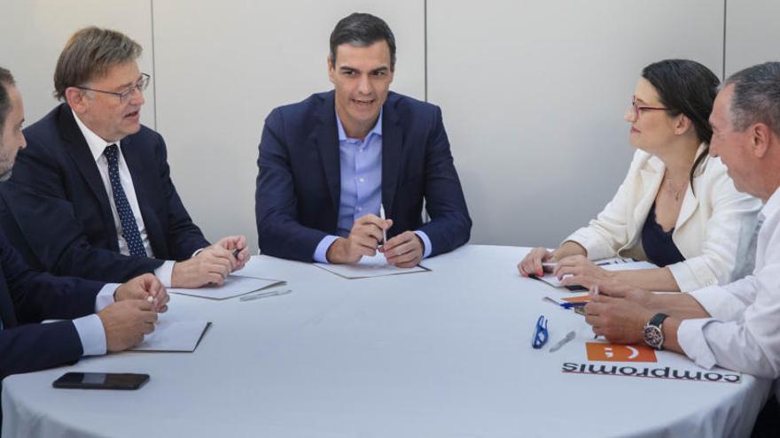 ERC (también) supedita la agenda valenciana