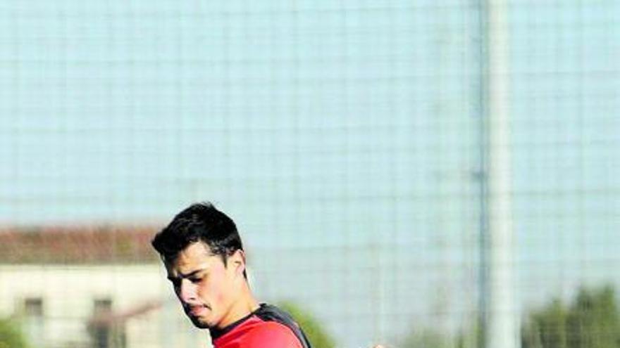 La fórmula del último canterano en triunfar con el Sporting: Gaspar, goles con pedigrí