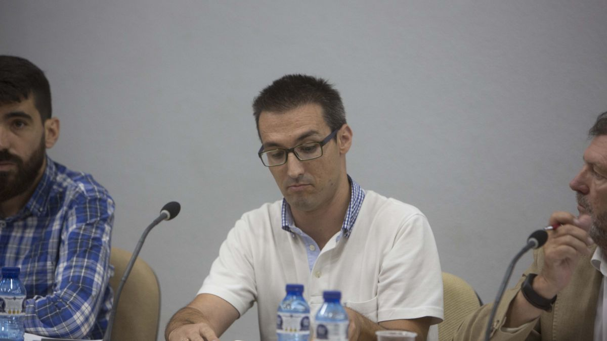 The mayor of Podemos in El Campello, Eric Quiles
