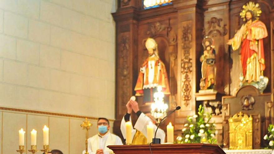 El tesoro de la iglesia de Vilanova, en la casa del sacristán