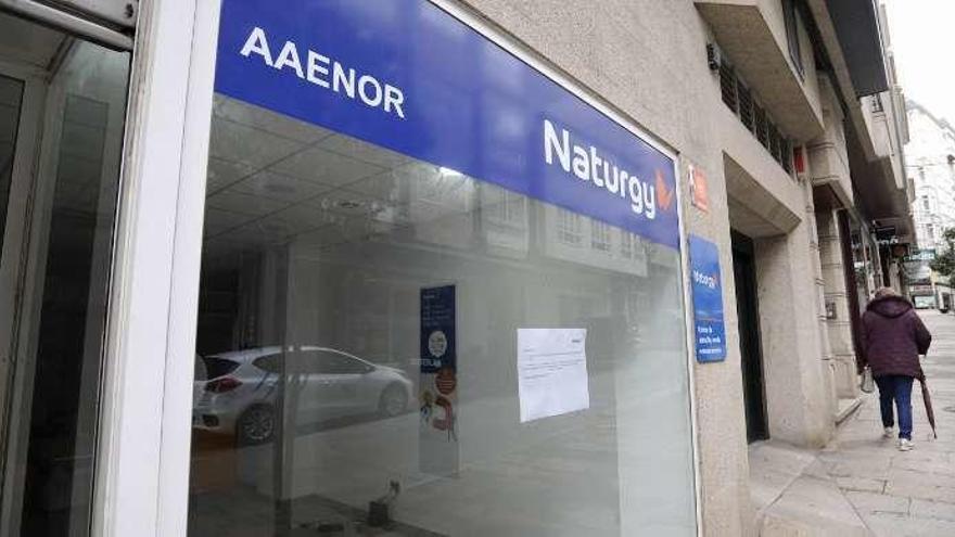 Naturgy traslada su oficina de Lalín a un bajo de Pintor Laxeiro