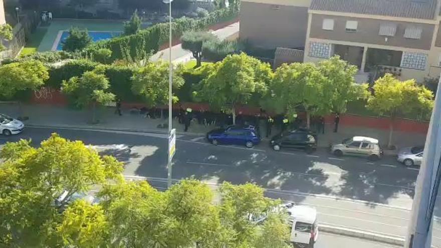 Al menos 3  detenidos y 7 heridos en una pelea entre ultras de Hércules y Castellón
