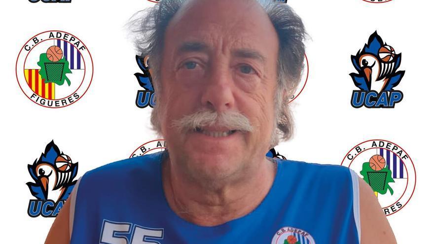 El veterà de l'Adepaf Jaume Quintana rep la Medalla de l'Esport