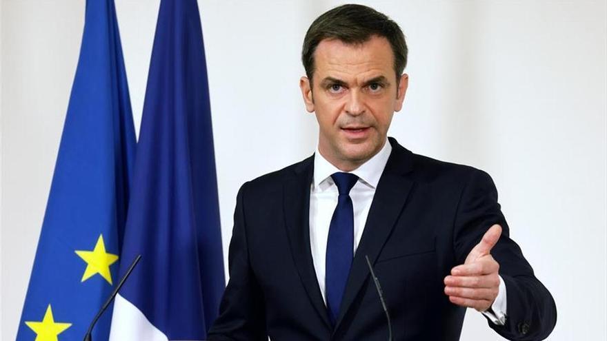 Olivier Verán, ministro de Salud de Francia.