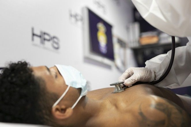 Ferigra realiza el reconocimiento médico
