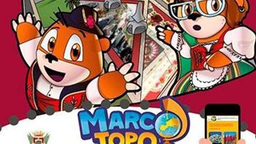 Con Marco Topo se puede descubrir La Orotava en familia.