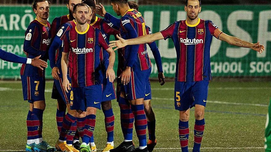 El Cornellá lleva a la prórroga al Barça