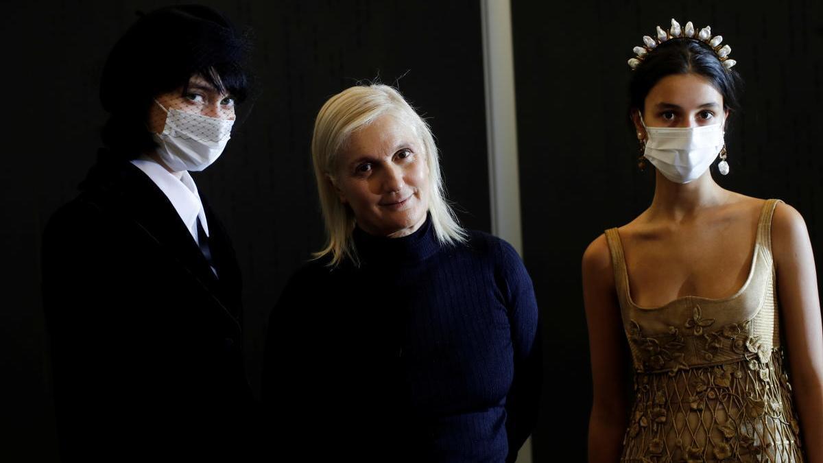 Maria Grazia Chiuri, diseñadora de Dior