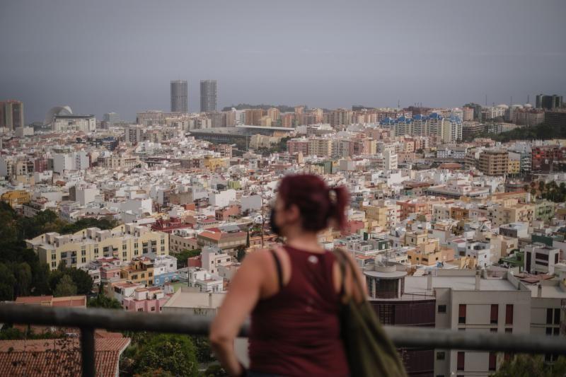 Calima en Tenerife, junio de 2021