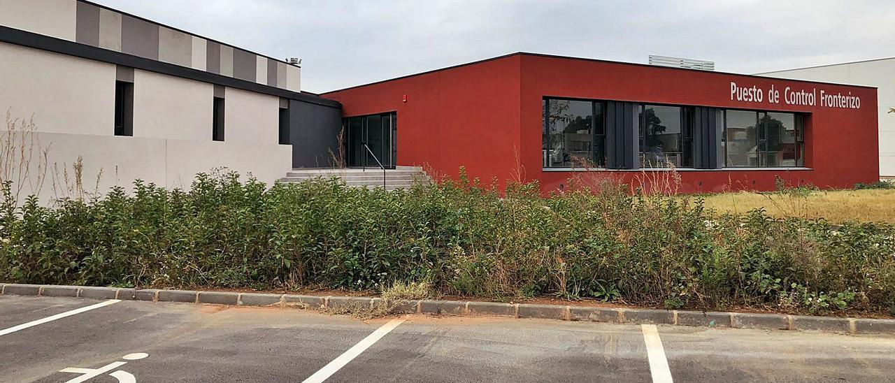Imagen del edificio donde se realizará el control fronterizo de los productos vegetales y animales.  | LEVANTE-EMV