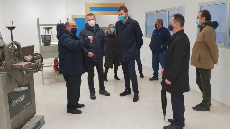 Educación moderniza con 320.000 euros los dos viejos talleres de FP del IES Antón Losada