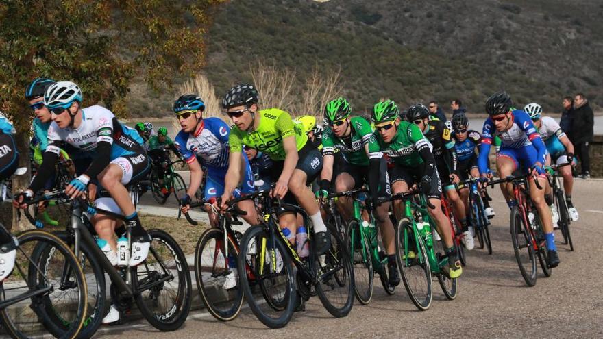 Los ciclistas, en el Iberdrola