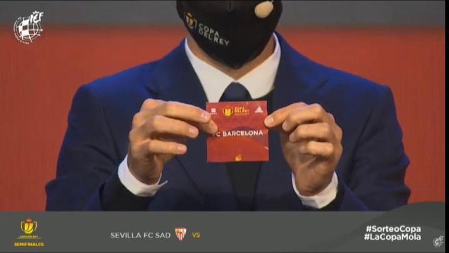 Sevilla-Barcelona y Athletic-Levante, semifinales de Copa del Rey