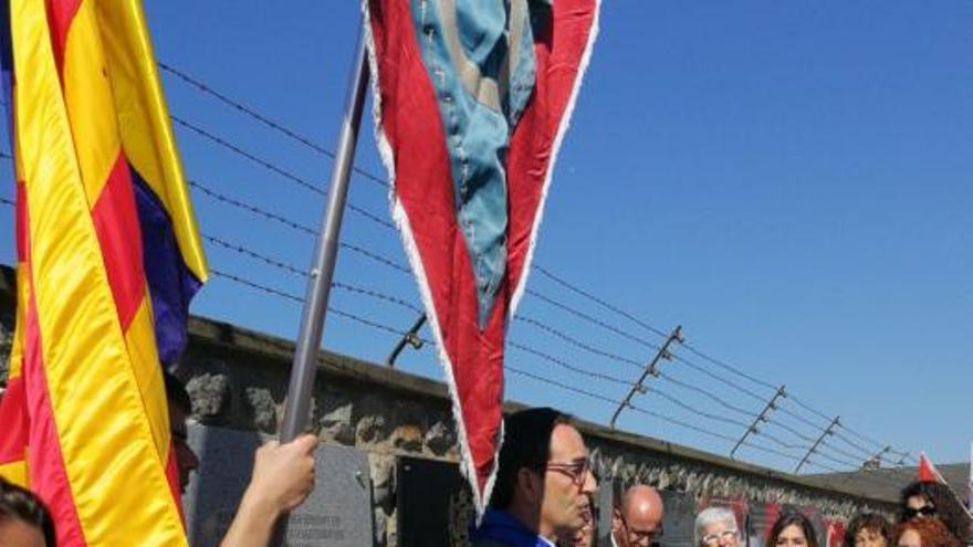 Alumnes d'instituts de Manresa i Sant Fruitós de Bages recorden l'horror de Mauthausen