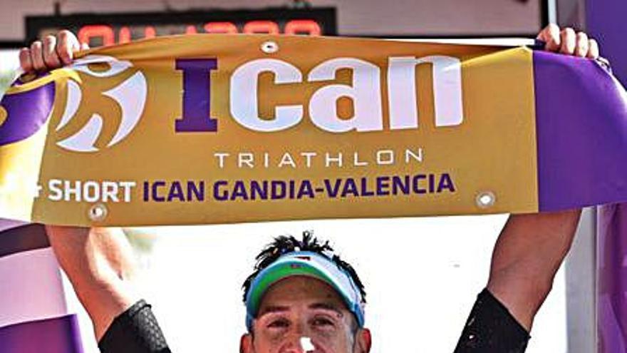 Miguel Fernández (CTG), campeón del Half ICAN Gandia
