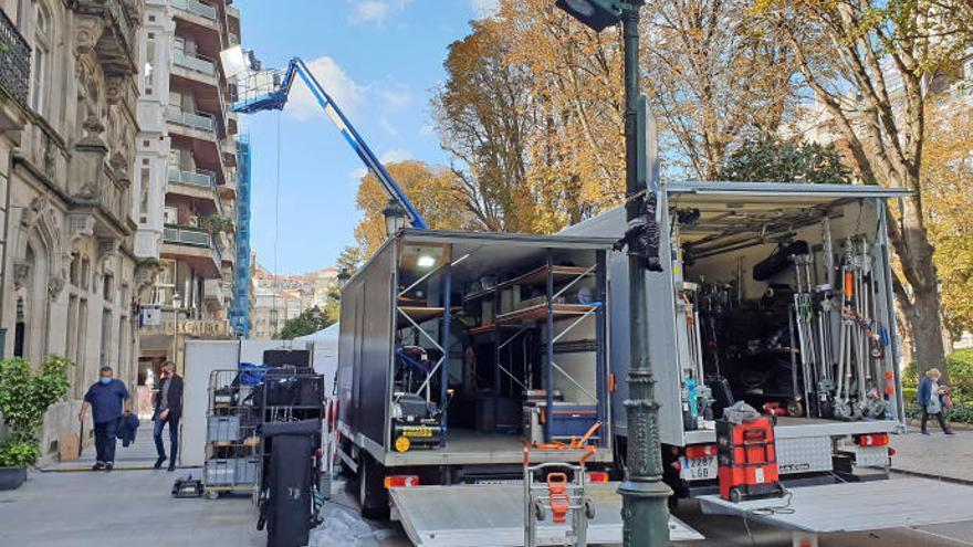 Arranca en Vigo el rodaje de 'Un asunto privado', lo nuevo de Amazon