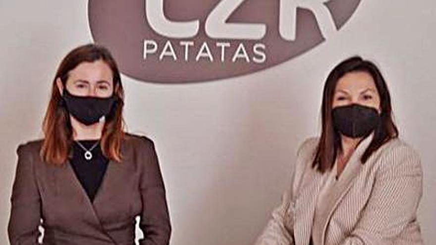 Asecam estrecha lazos con Patatas Lázaro con la iniciativa Un café con la presidenta