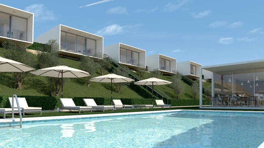 Finestrat cede a una empresa dos parcelas para construir un hotel