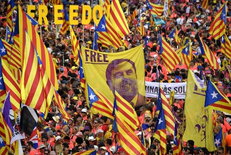 La Diada de Cataluña, en imágenes
