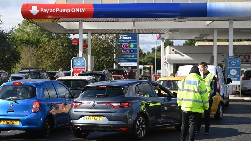 El desabastecimiento en el Reino Unido va más allá de la escasez de gasolina