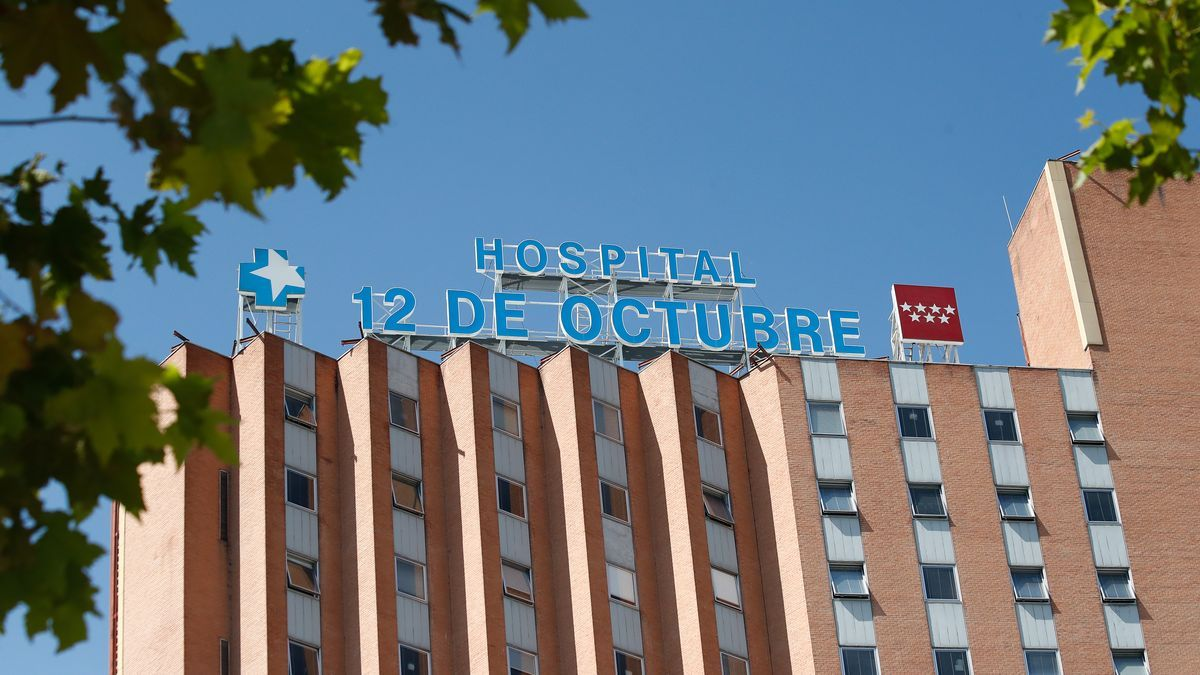 Fachada del Hospital 12 de Octubre