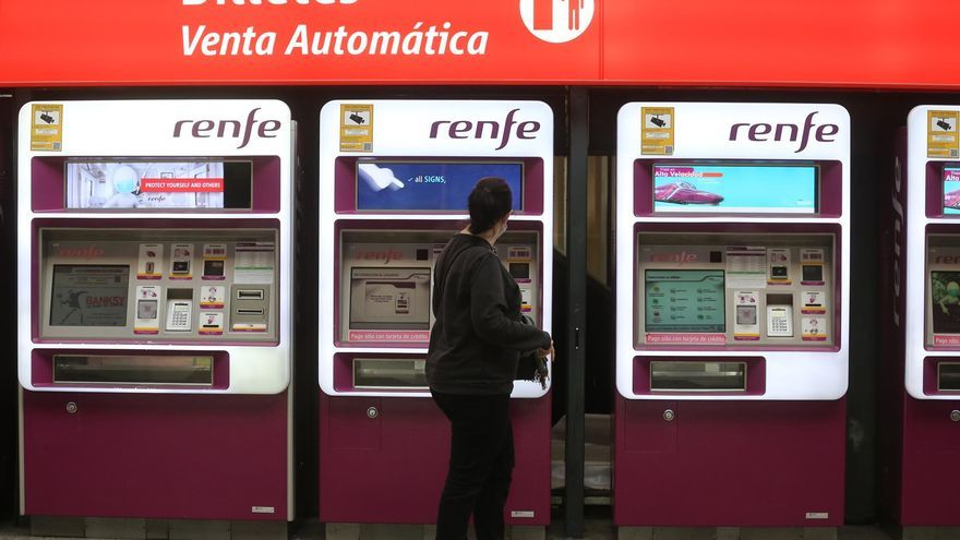 Renfe devuelve casi 100 millones a sus clientes por los billetes anulados por la pandemia