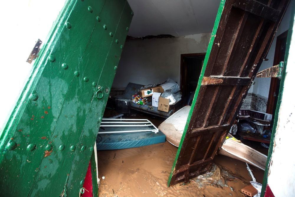 Campanillas, la zona más afectada por el temporal esta madrugada